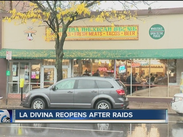La Divina reopens following ICE raid