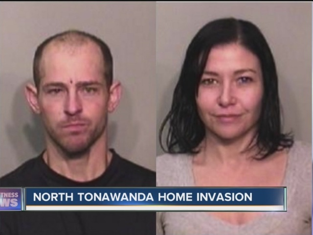 Police: Two people armed with gun arrested for home invasion