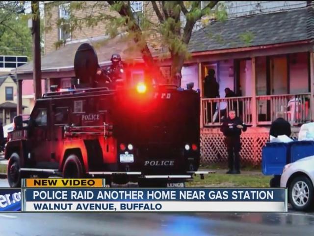 Police raid home in Niagara Falls