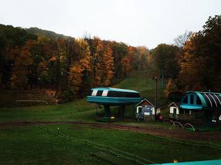 Snowfall at Holiday Valley in Ellicottville