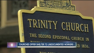 Churches offer shelter for undocumented workers