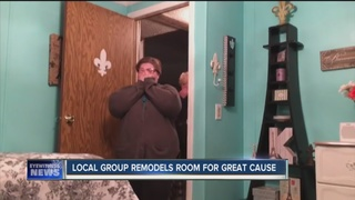Local group remodels room for great cause