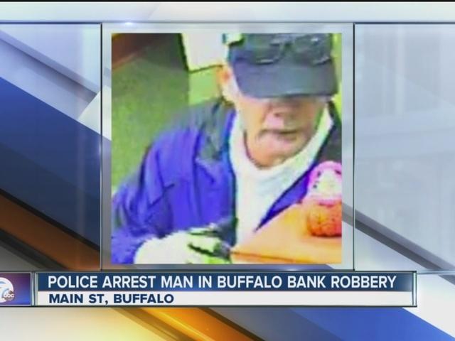 Police arrest suspected bank robber