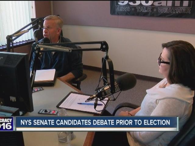 Senate candidates debate prior to election