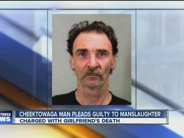 Cheektowaga man pleads guilty in girlfriend's death
