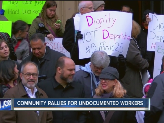 Community rallies behind undocumented workers facing deportation