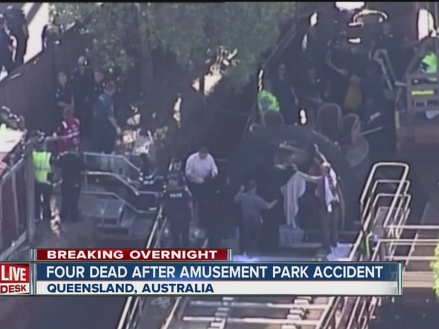 Four dead after amusement park accident