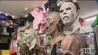 Local stores feel the Halloween pinch