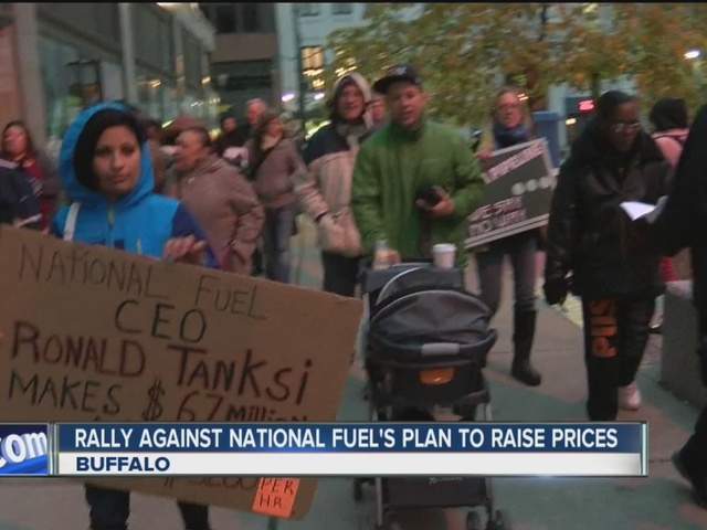 Activists protest proposed heating hike