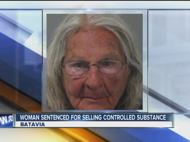 Elderly Batavia woman sentenced for selling drugs