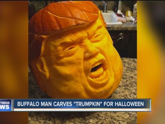 Pumpkin makes political statement