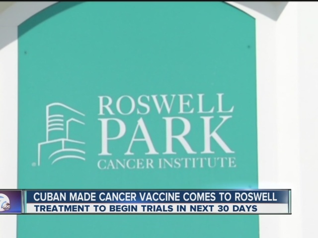 Roswell Park announces ground-breaking vaccine to treat lunch cancer