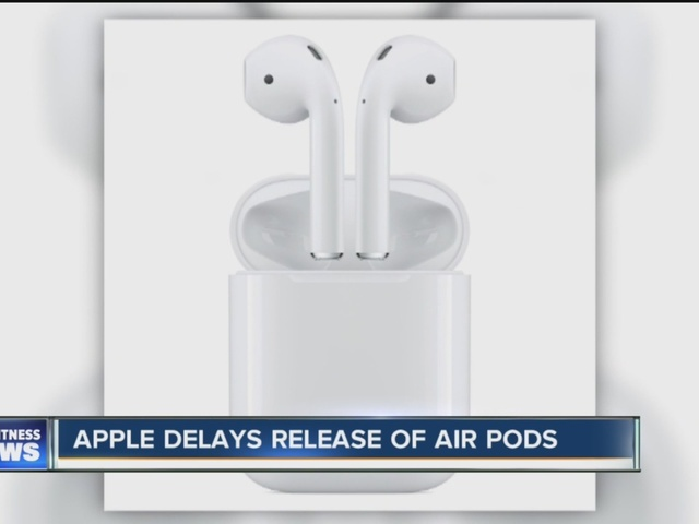 Hold-up on Apple wireless earbuds