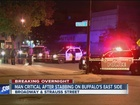 Man critical after east side stabbing