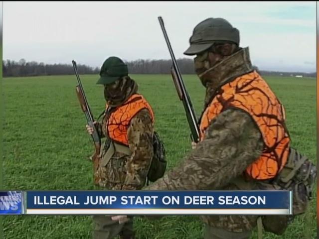 Poaching problem before deer season opens