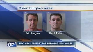Police: Olean men arrested for burglary