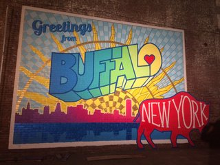 Celebrating the City of Buffalo with a mural