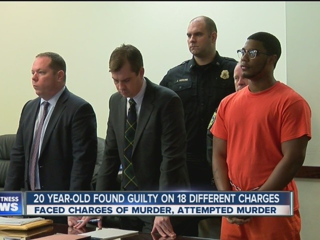 Diamond Lewis found guilty on 18 different charges