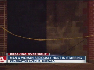 Two people hurt after east side stabbing