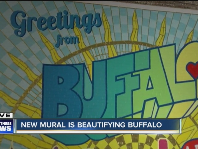 New downtown mural celebrates the City of Buffalo