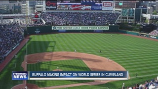 Buffalo business wins in World Series