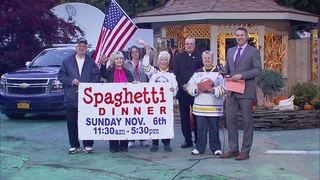 Spaghetti Dinner this Sunday