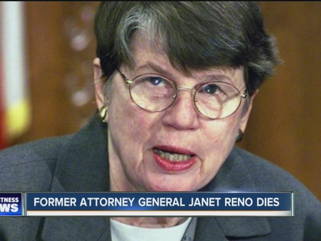 janet reno  former us attorney general  has died