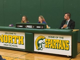 Three Williamsville North athletes sign Letters