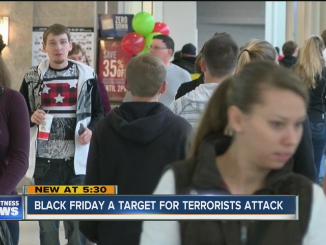 Shopping malls are targets for terrorist attacks