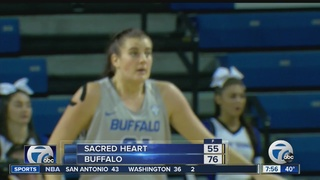 UB women roll past Sacred Heart 76-55