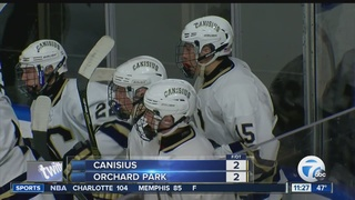 Canisius & Orchard Park play to 2-2 tie
