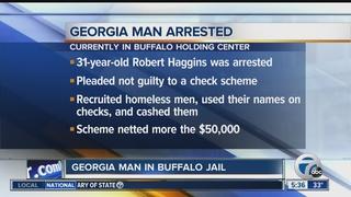 GA man accused of local check cashing scheme