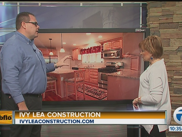 Kitchens With Ivy Lea Construction Buffalo Ny