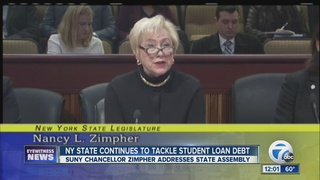 SUNY Chancellor to address student debt