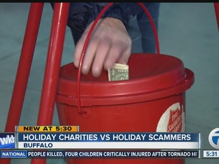 Avoiding holiday charity scams