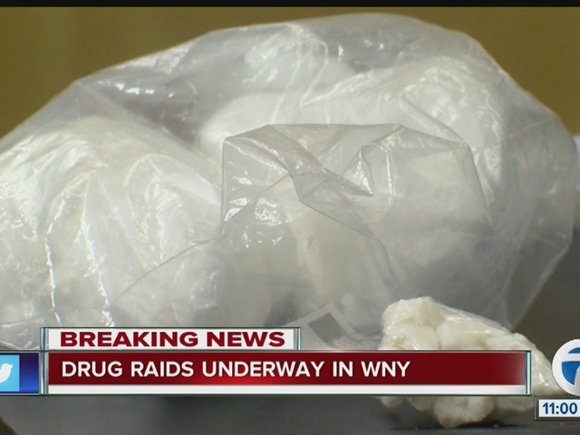 Drug raids underway in Buffalo