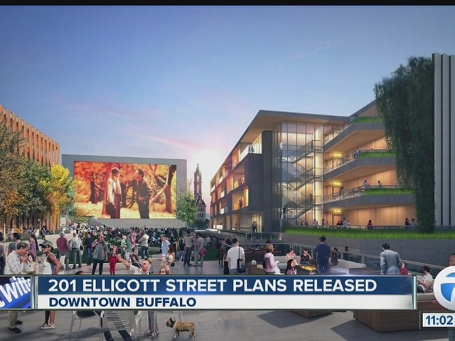 Plans for new 18-story skyscraper in Buffalo
