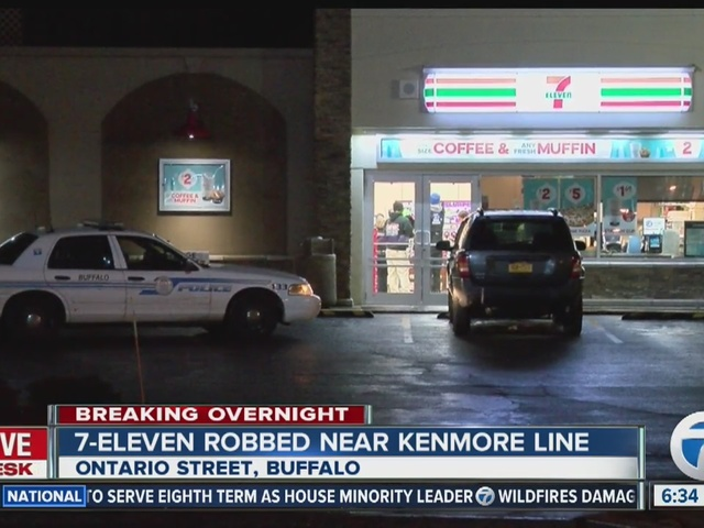 Three 7-Eleven stores robbed overnight