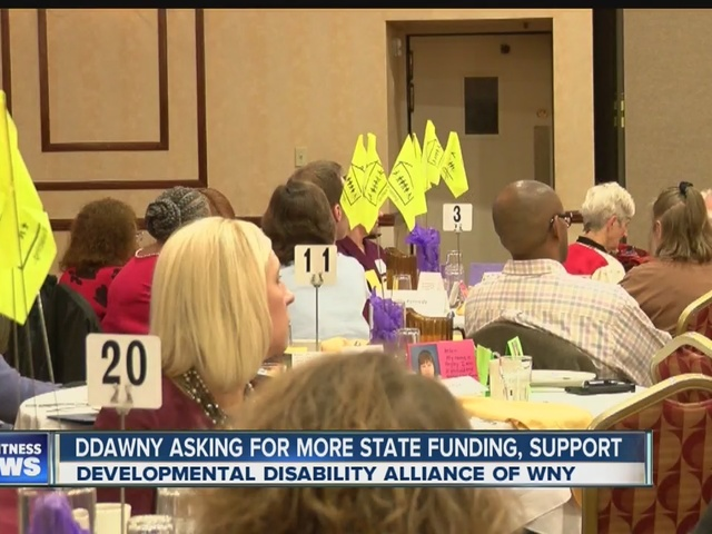 Families of people with developmental disabilities asking for support…
