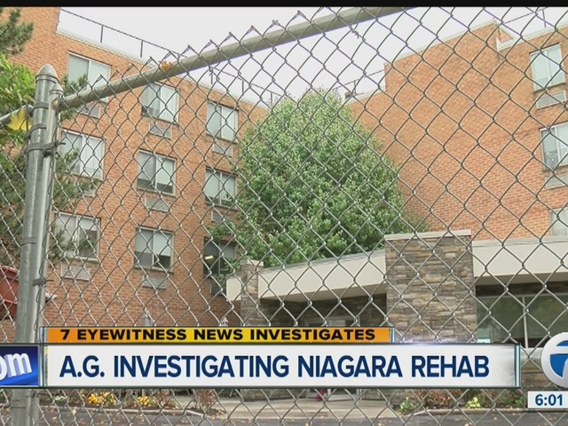 N.Y. Attorney General Investigating Niagara Rehab