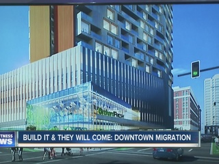 Development would add 200 apartments to downtown