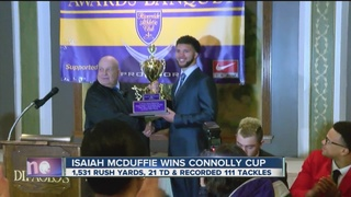 Bennett's Isaiah McDuffie wins 2016 Connolly Cup
