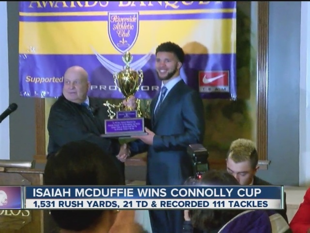 McDuffie wins Connolly Cup