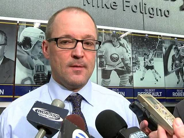 Sabres head Coach Dan Bylsma talks Guhle, Gorges, Kulikov, etc.