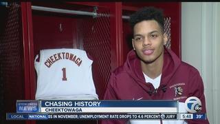 Cheektowaga's Dom Welch chasing history