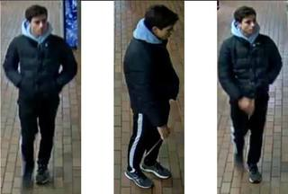 Do you recognize this UB burglary suspect?