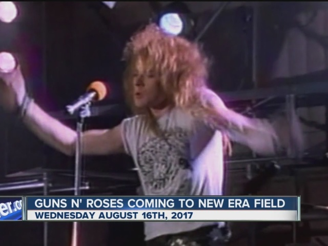 Guns N' Roses to perform at New Era Field