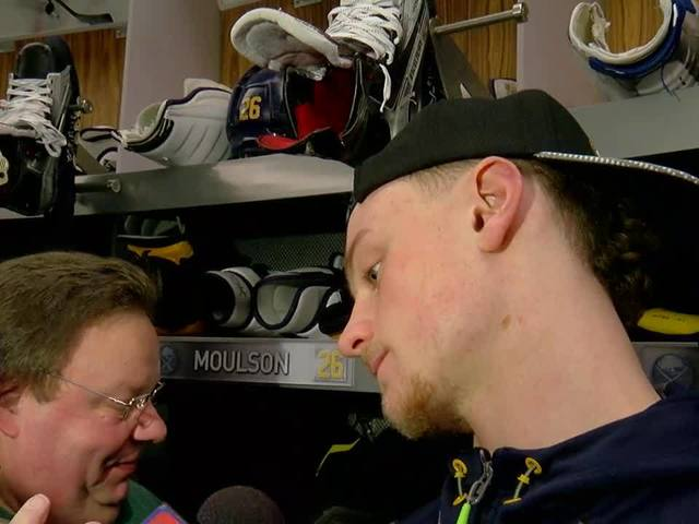 Eichel expects to play against the Oilers
