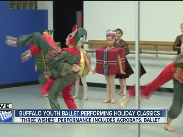Greater Buffalo Youth Ballet gives sneak peek of holiday performance