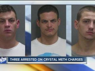 Jamestown crystal meth arrests